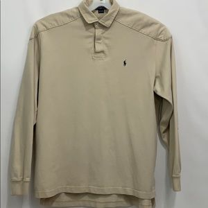 Polo by Ralph Lauren rugby style long sleeve shirt